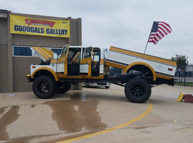 1972 Chevy K50 with a 6BT Inline-Six