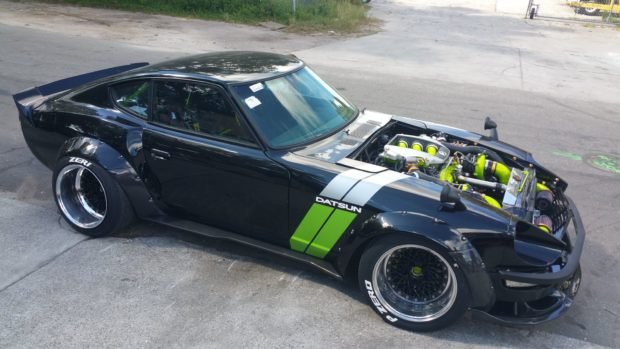 1973 Datsun 240Z with a Twin-Turbo VQ37 V6