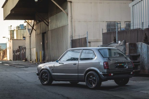 1974 Civic with a K20A Inline-Four