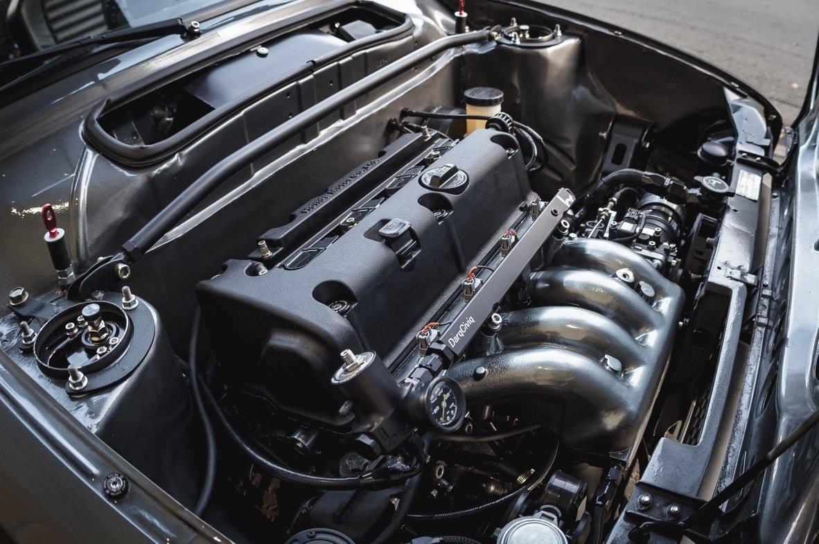 K20 Wiring Harness Expert Schematics Diagram 7mgte Ebay 1974 Civic With A Inline Four Engine Swap Depot Ecu Through