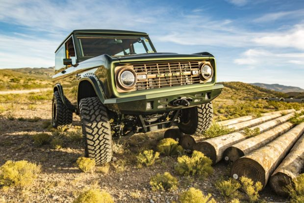 1976 Ford Bronco with a Coyote V8