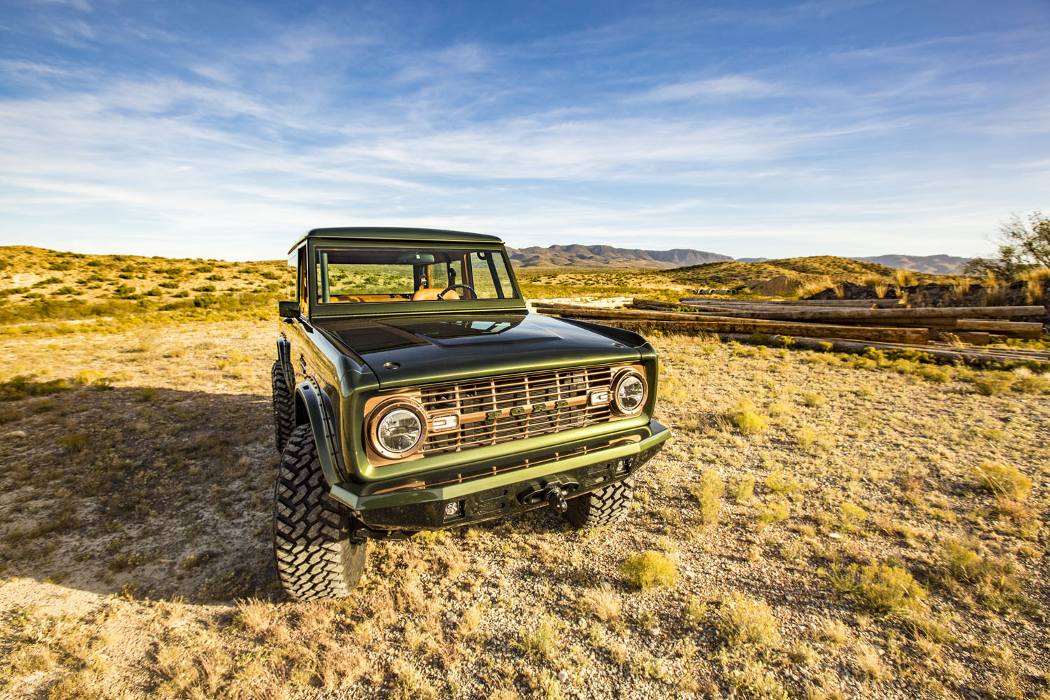 New Ford Bronco >> Ford Bronco with a Coyote V8 – Engine Swap Depot