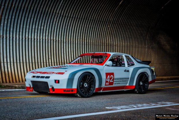 1981 Porsche 924 GTP with a Turbo Audi 1.8 L Inline-Four