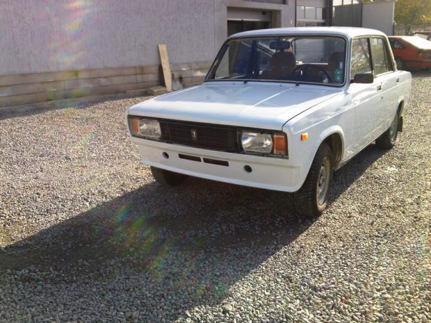 1982 Lada 2105 with a turbo VR6