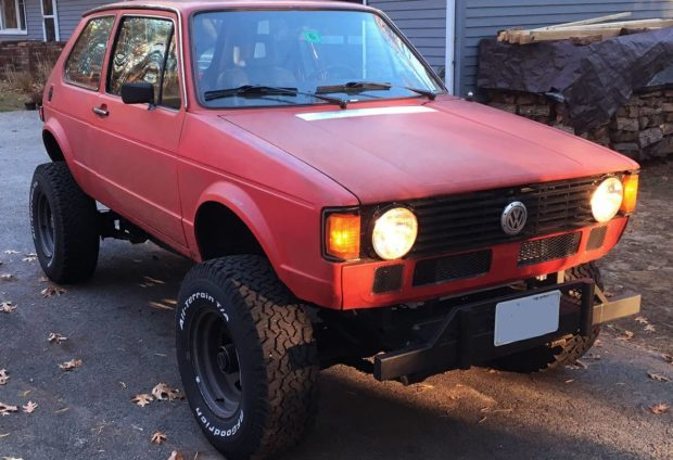For Sale: 1982 Rabbit on a Jeep 4×4 Chassis with a Chevy ...