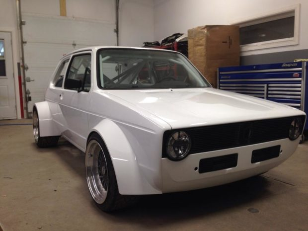 1984 VW Rabbit with a Mid-Engine Audi V8