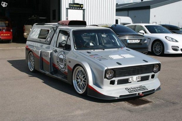 1988 Volkswagen Caddy with a Volvo turbo inline-five