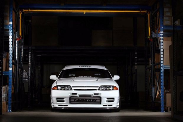 1989 Skyline R32 Sedan with a RB26DETT Inline-Six