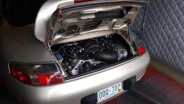 1999 Porsche 911 with a Turbo LS3 V8