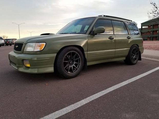 2001 Forester With An Ej207 Turbo Flat
