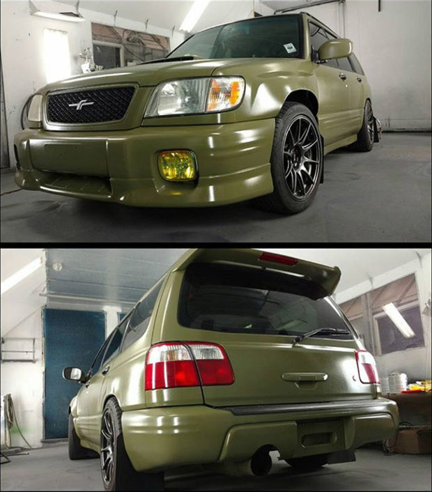 2001 Subaru Forester with a EJ207 turbo flat-four