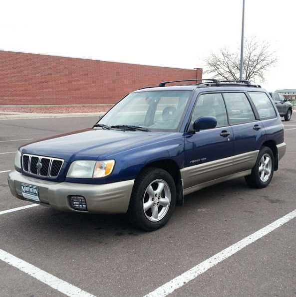 2001 Forester With An Ej207 Turbo Flat Four Engine Swap Depot