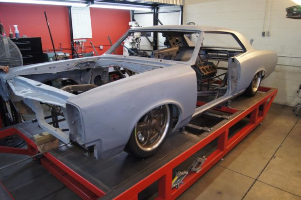 AWD 1967 GTO with a Mid-Engine Twin-Turbo V8
