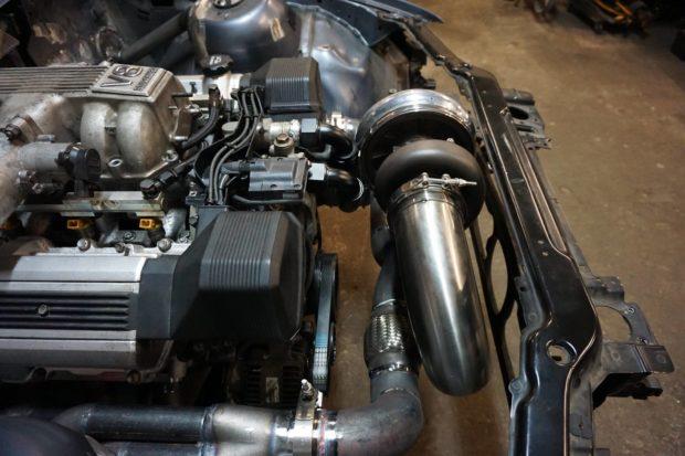 BMW E46 with a Turbo 1UZ V8