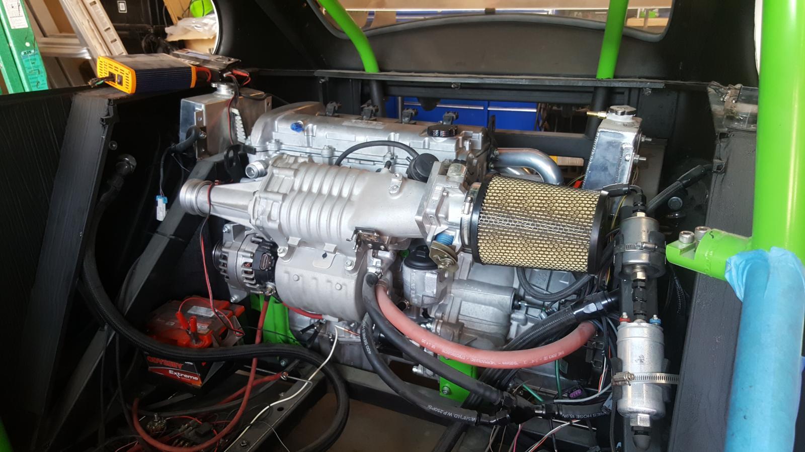 The Racing Monster Called Bugzilla – Engine Swap Depot