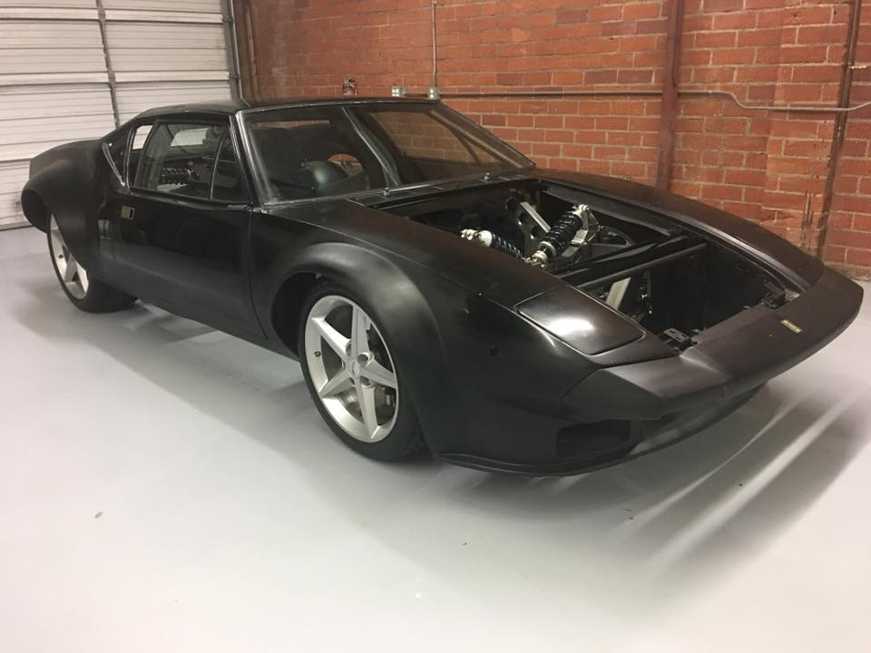 De Tomaso Pantera with a Twin-turbo 428 ci Windsor V8