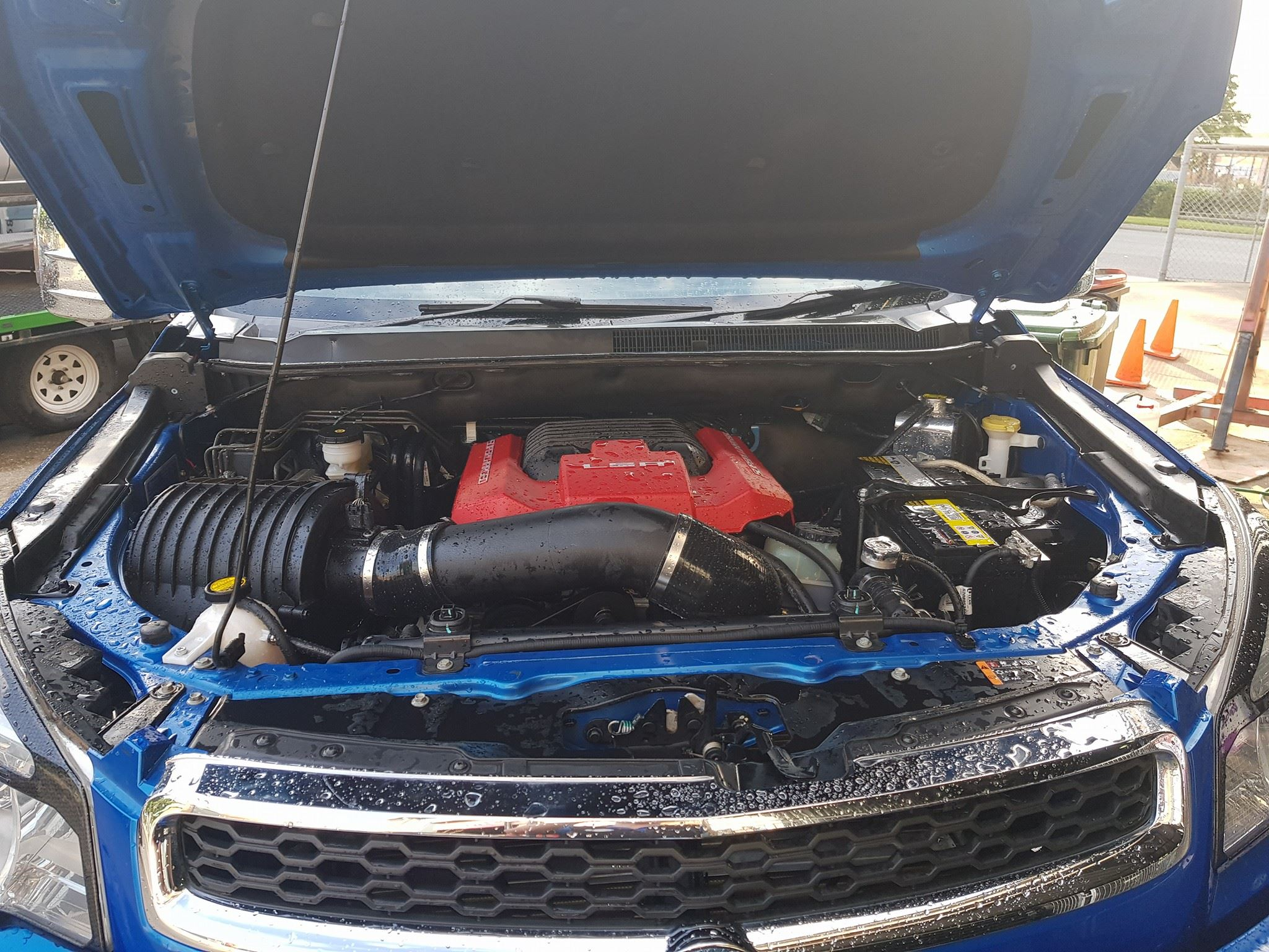 Holden Colorado with a LSA V8 – Engine Swap Depot