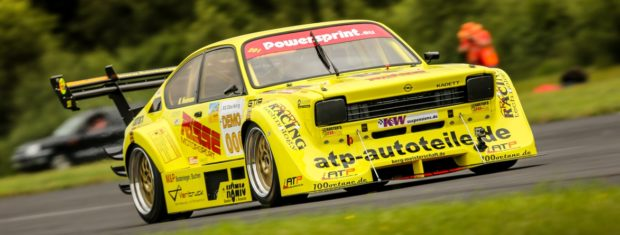 Opel Kadett with a LT-5 V8