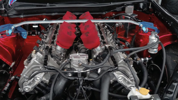 Toyota 86 with a BMW V10