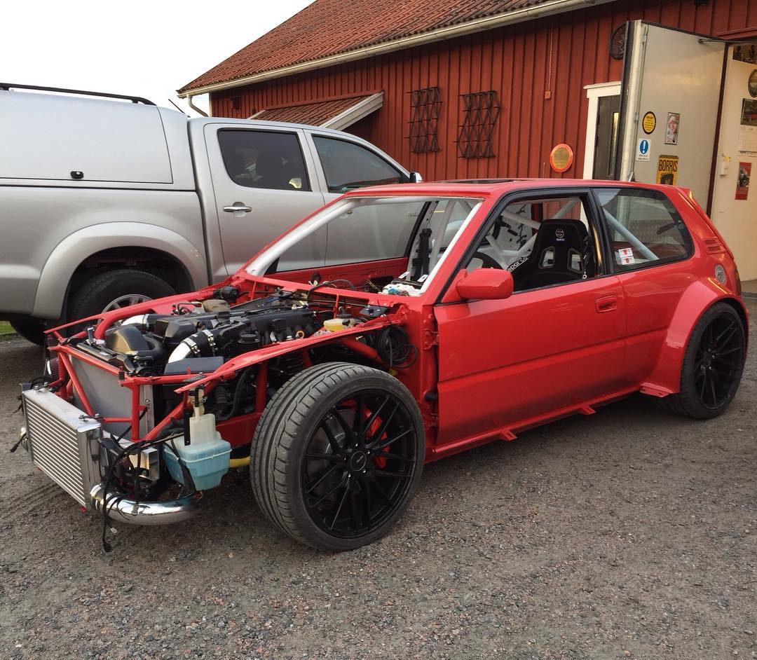 1992 Volkswagen Gti Transmission: 1992 Toyota Corolla With A 2JZ-GTE Inline-Six