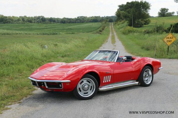 1969 Corvette with a LS3 V8