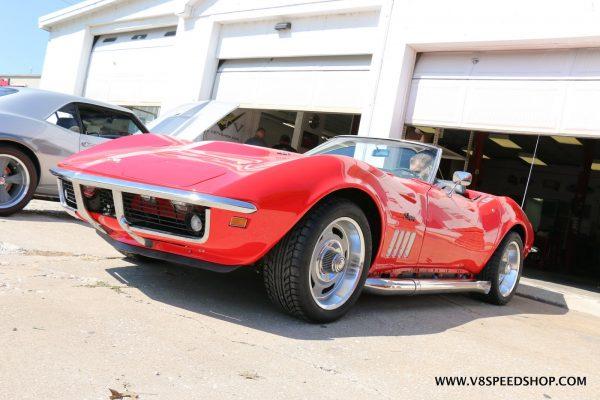 1969 Corvette with a LS3 V8