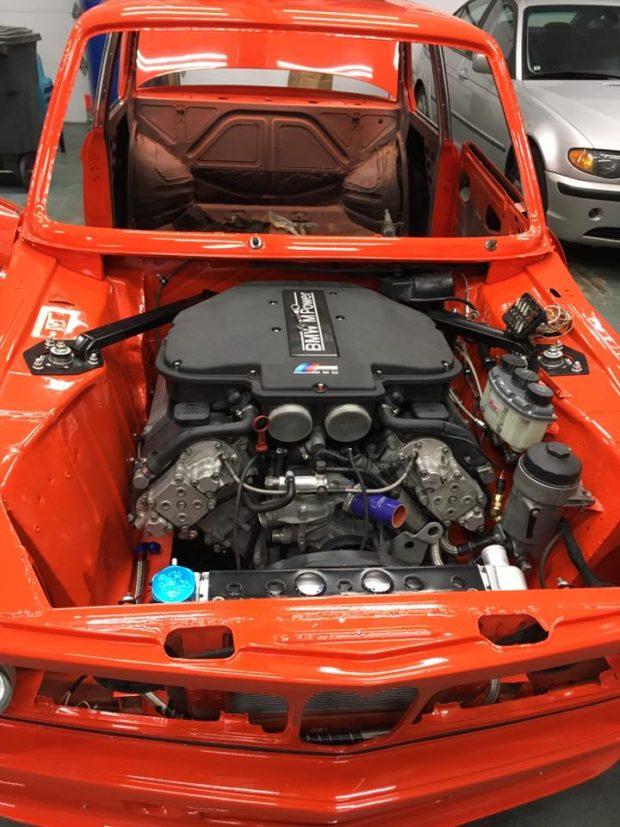 Bmw 2002 With A S62 V8 Engine Swap Depot