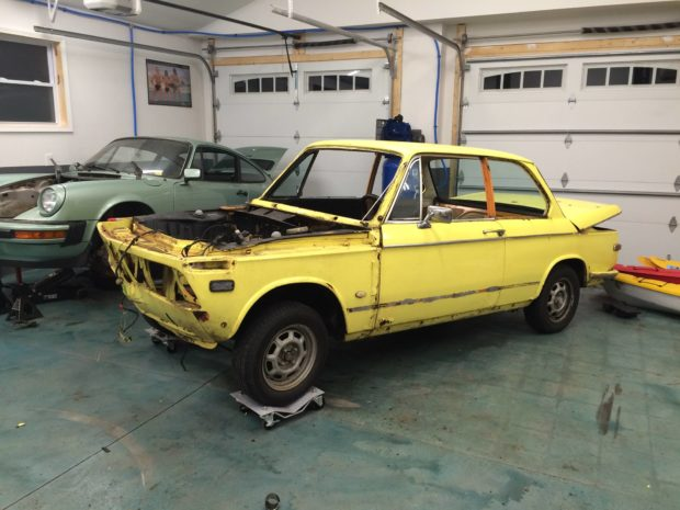 1972 BMW 2002 with a S62 V8