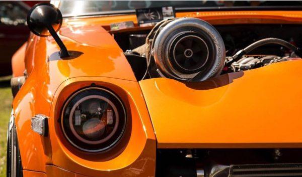 1972 Datsun 240Z with a Turbo LSx V8