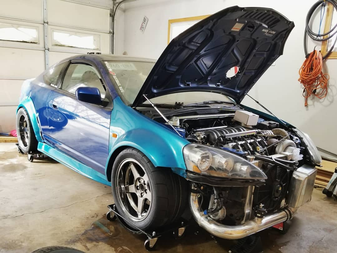 Building An Acura RSX With Two Turbocharged LSx V Engines Engine - Acura rsx type s turbo