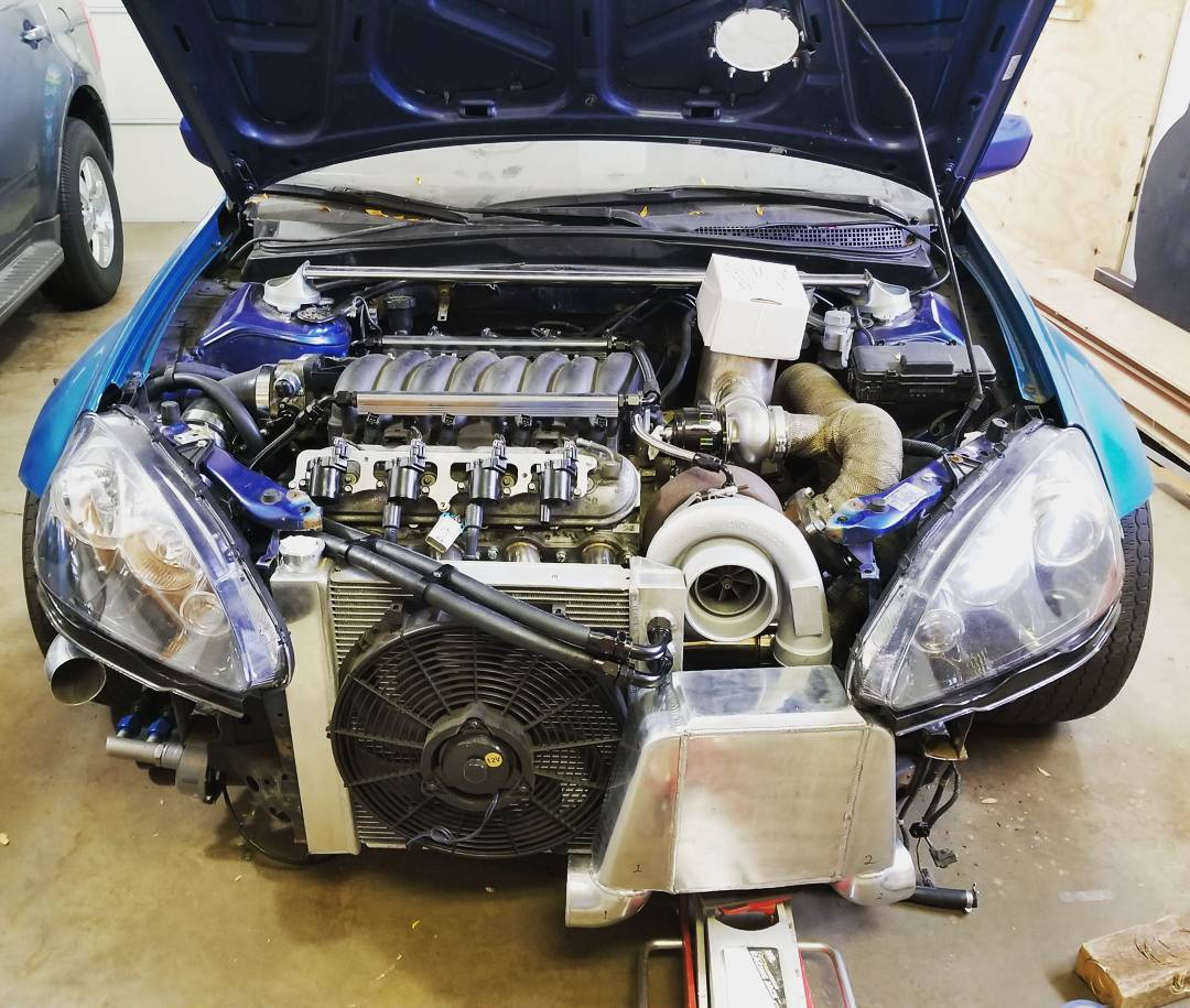 Acura Rsx With Two Turbo Ls V Engines on Acura Rsx Type S