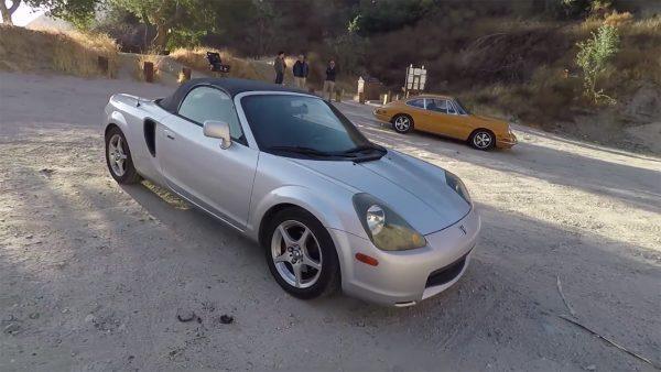 2002 Toyota MR2 with a 2ZZ inline-four
