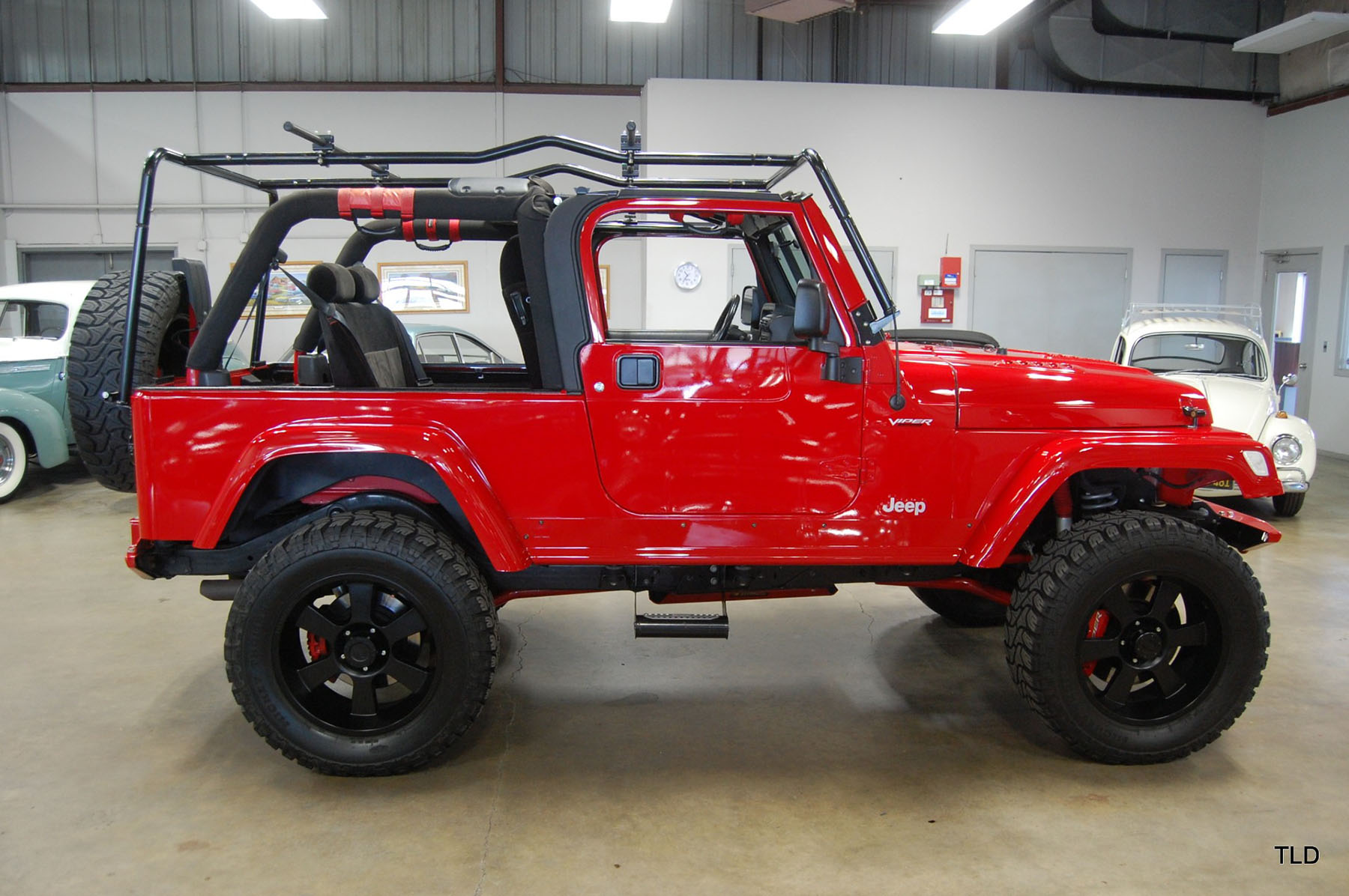 For Sale: 2005 Jeep Wrangler with a Viper V10 – Engine Swap