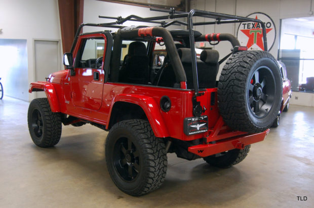 2005 Jeep Wrangler with a Viper V10