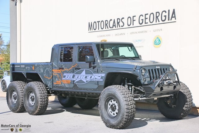 This 2017 Jeep Wrangler Unlimited 6×6 Is For Sale On EBay In Atlanta,  Georgia For The Eye Watering Price Of $284,800. The Custom Jeep Built By  Time Warp ...