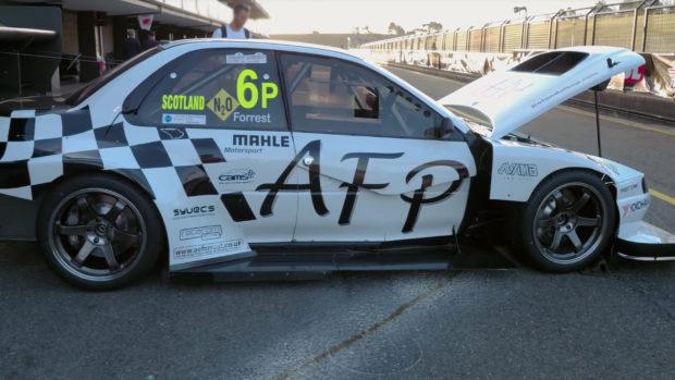 AFP Subaru Impreza WRX with a turbo flat-six