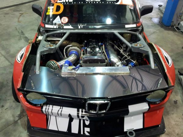 BMW E21 with a Turbo 2JZ Inline-Six