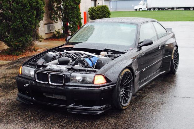 BMW M3 E36 with a Coyote V8