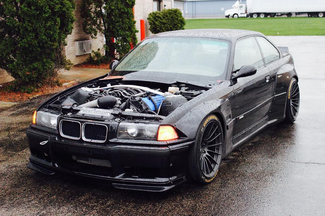 bmw m3 e36 with a coyote v8. Black Bedroom Furniture Sets. Home Design Ideas