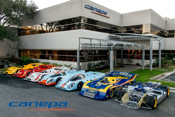 Canepa Motorsport Porsche 917 race cars