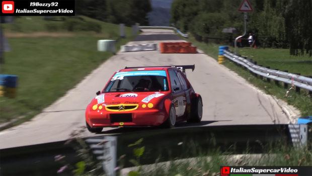 Citroen Saxo with a Honda CBR1100XX inline-four