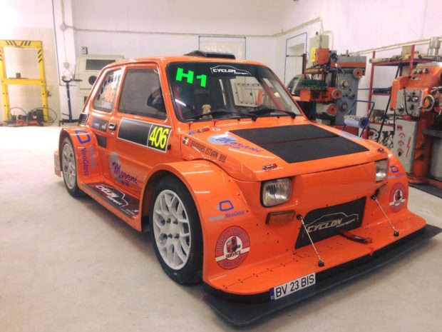 Fiat 126p with a Hayabusa Inline-Four