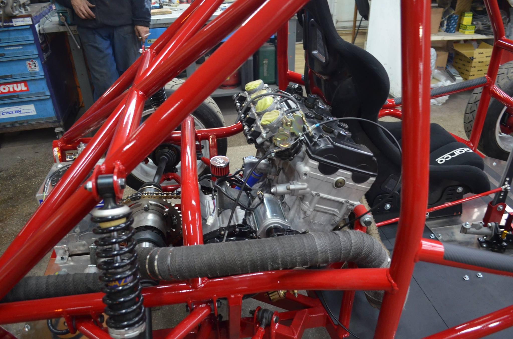 Fiat 126 With A Hayabusa Engine  U2013 Engine Swap Depot