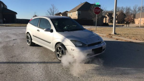2004 Ford Focus with a Turbo 5.3 L LSx V8