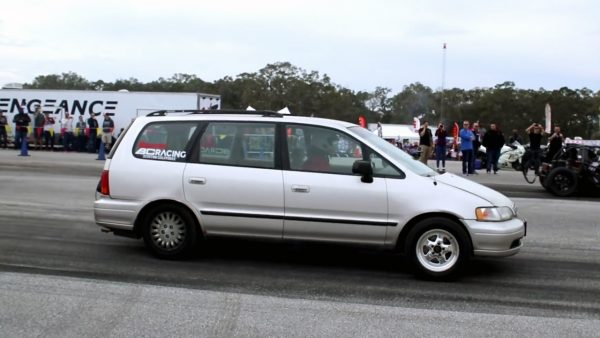 Honda Odyssey with a Turbo H22 Inline-Four