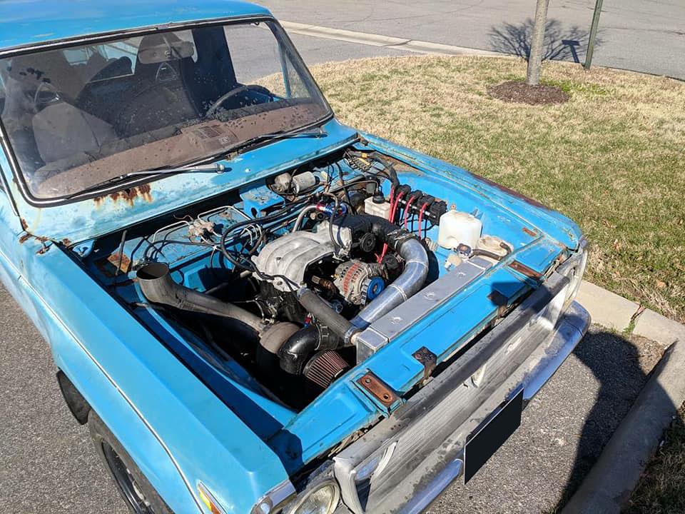 Mazda REPU with a Turbo 13B-REW – Engine Swap Depot