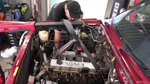 Nissan Patrol with a Turbo Diesel Inline-Six