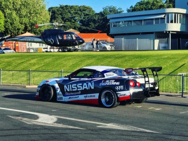 Nissan R35 with a turbo RB34 inline-six