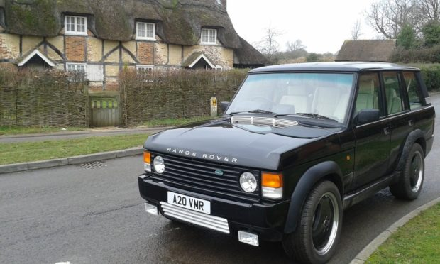 Range Rover Chieftain with a LSA V8