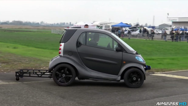 Smart Fortwo with a VW 1.9 L TDI inline-four